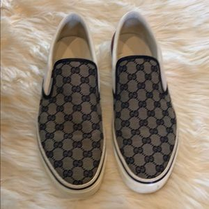 100% authentic Gucci Slip On Sneakers